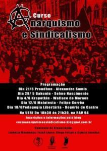 Curso Anarquismo e Sindicalismo UERJ
