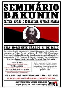 Seminario Bakunin, Critica Social e Estrategia Revolucionaria - MG 2014